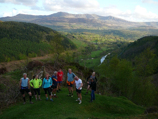 LLanfachreth Training run may 2013