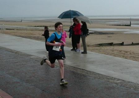 Rhyl sun center 1k Harri Hughes juniors 2013