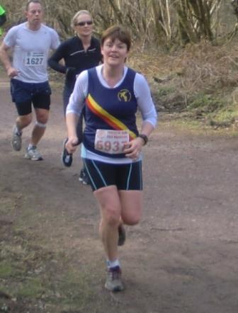 Sandra Williams Forest of dean half Marathon 2013
