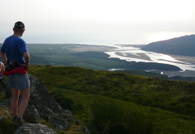 mawddach from cregennan july 2013