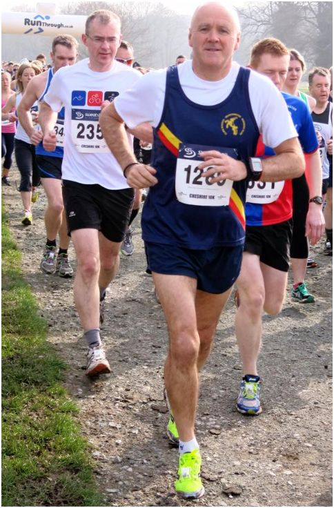 Cheshire 10k Keith Williams 2014