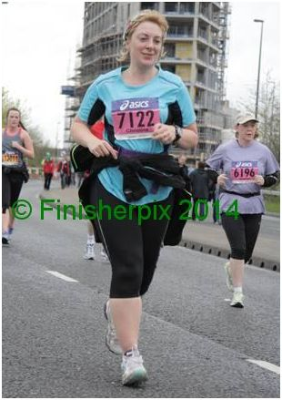 Manchester marathon Chris owen 2014