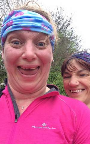 Liverpool to Manchester ultra Elly Dee 2016