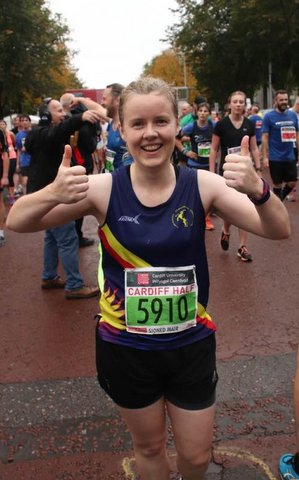 cardiff half sioned jones 2017