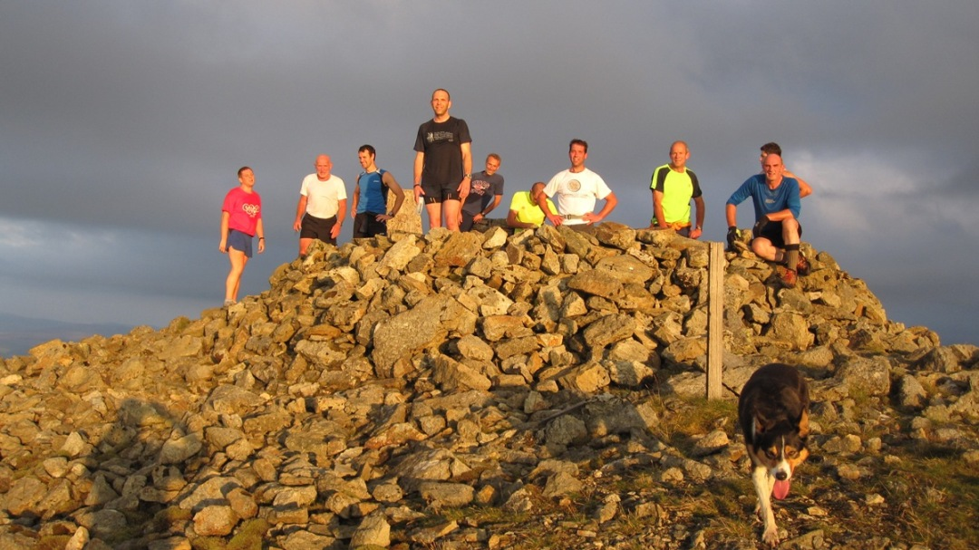 Club on top of Arenig fawr